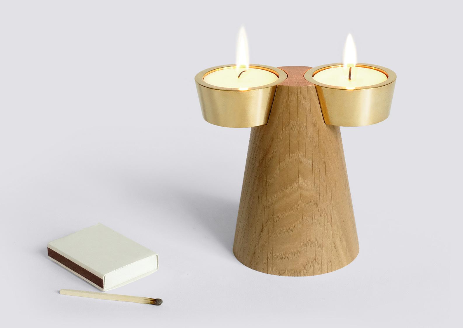 Faro Candle Holder For Caussa Studio Kowalewski